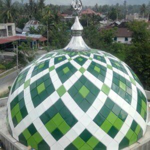 informasi harga kubah masjid bahan galvalum