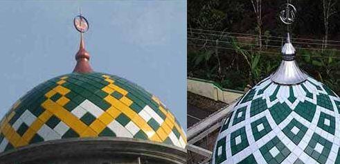 Harga Kaligrafi Kubah Masjid