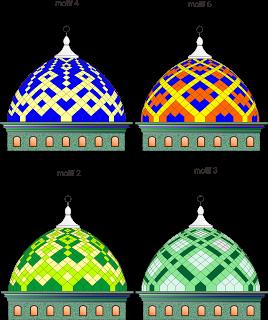 gambar kubah masjid modern