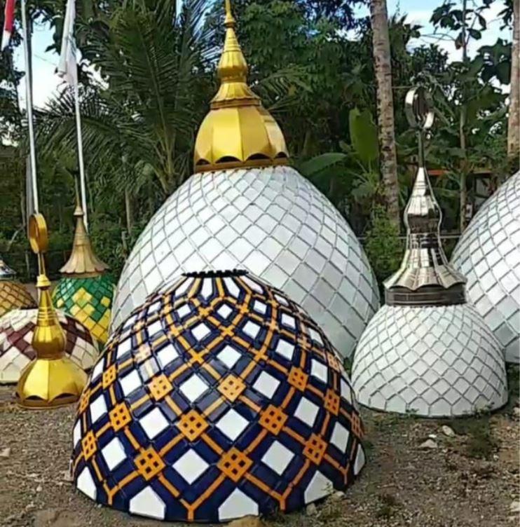 Pengrajin Kubah Masjid 1