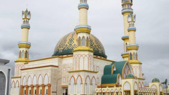 Kontraktor Pembuat Kubah Masjid Papua